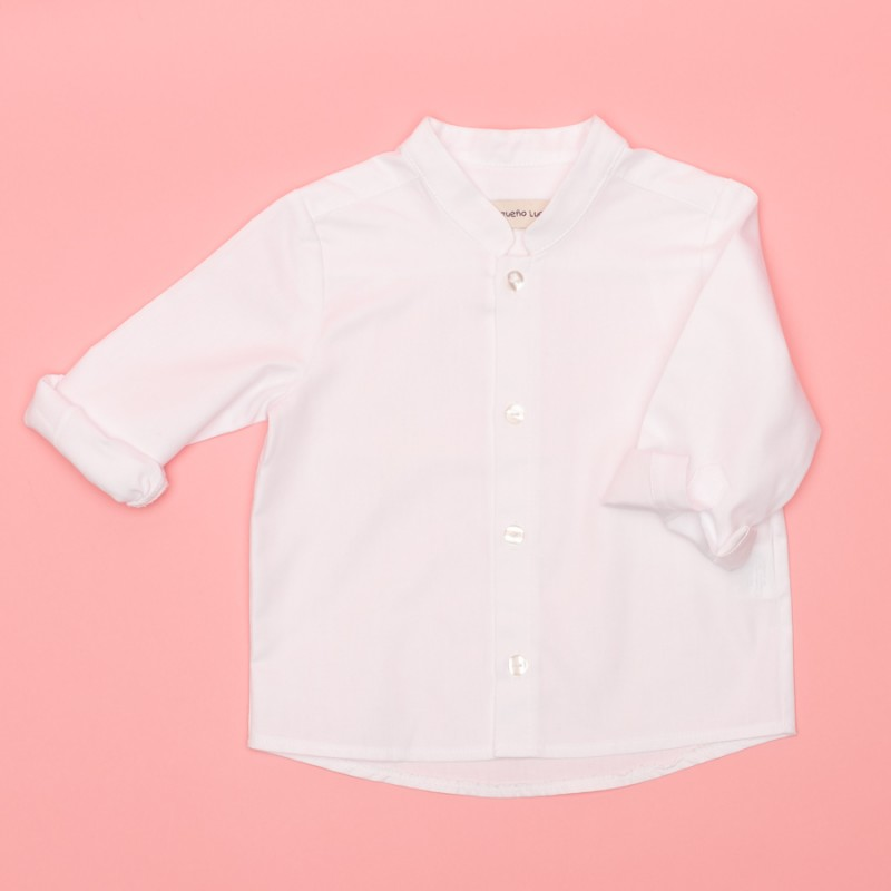 CAMISA MAO BÁSICA ML OXFORD BLANCO