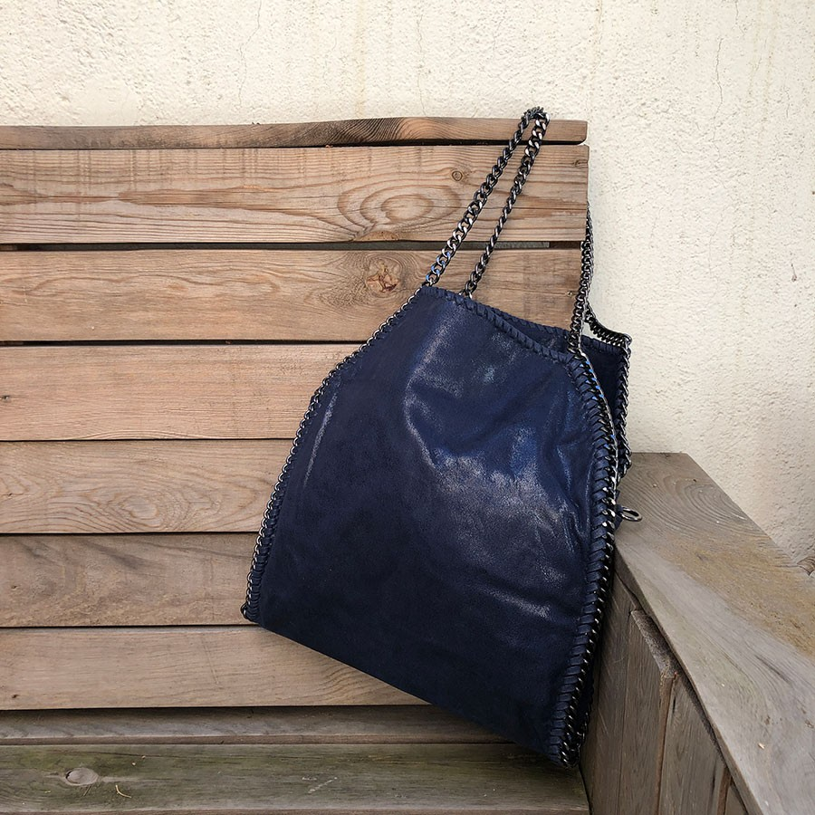 BOLSO CADENAS NAVY UNIVERSIDAD
