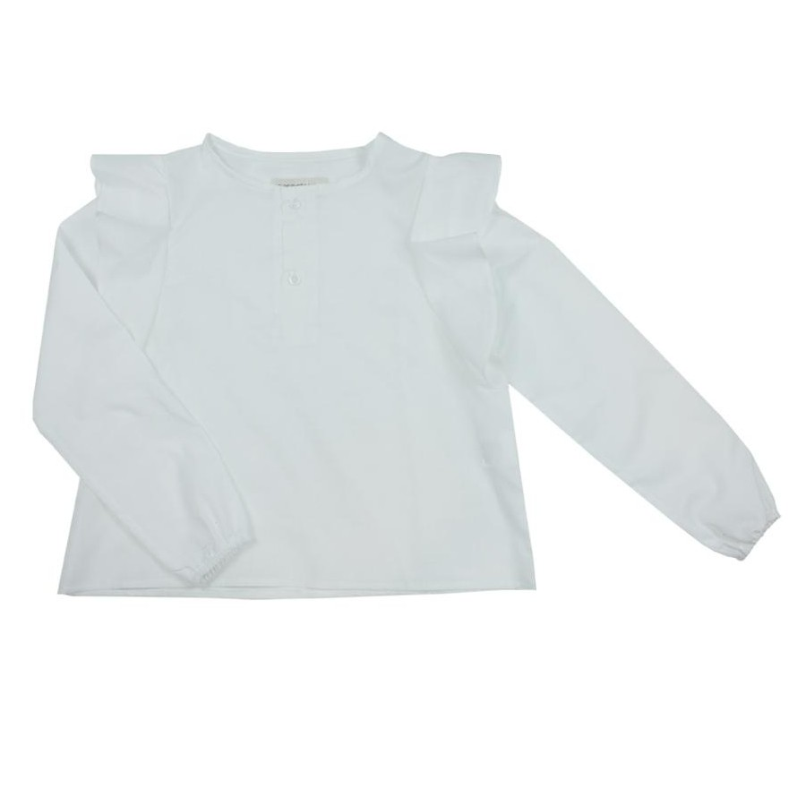 CAMISA PARIS ML VOILE BLANCO